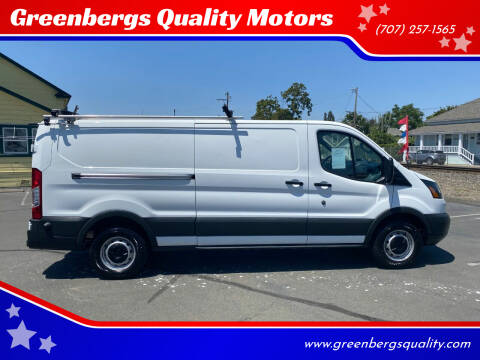 2018 Ford Transit Cargo for sale at Greenbergs Quality Motors in Napa CA