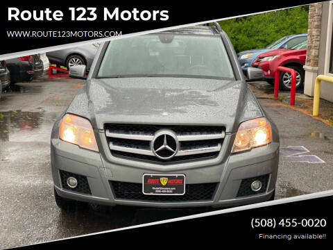 2011 Mercedes-Benz GLK for sale at Route 123 Motors in Norton MA