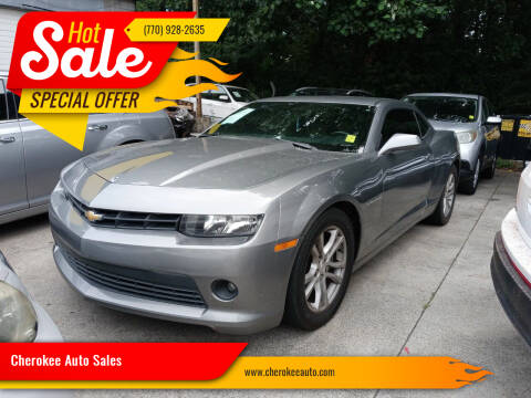 2015 Chevrolet Camaro for sale at Cherokee Auto Sales in Acworth GA