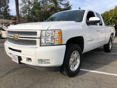 2012 Chevrolet Silverado 1500 for sale at Martinez Truck and Auto Sales in Martinez CA