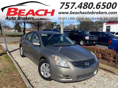 2011 Nissan Altima for sale at Beach Auto Brokers in Norfolk VA
