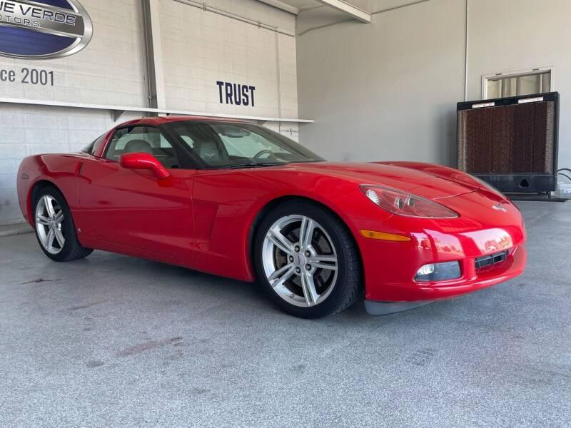 2009 Chevrolet Corvette for sale at TANQUE VERDE MOTORS in Tucson AZ