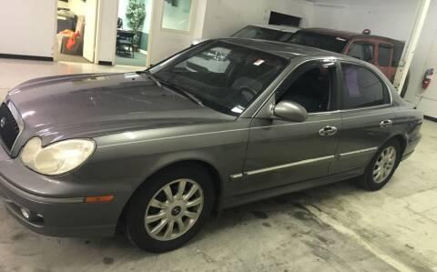 2004 Hyundai Sonata for sale at Cargo Vans of Chicago LLC in Mokena IL