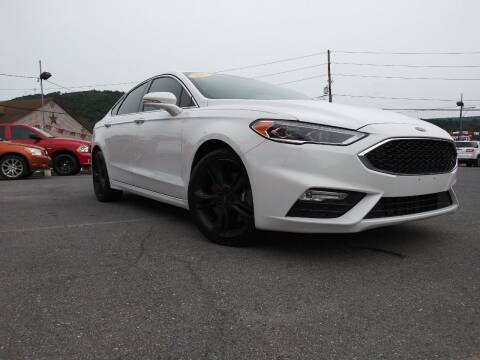 2017 Ford Fusion for sale at Mulligan's Auto Exchange LLC in Paxinos PA