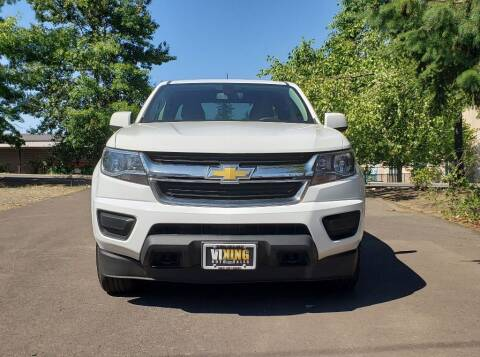 2016 Chevrolet Colorado for sale at VIking Auto Sales LLC in Salem OR