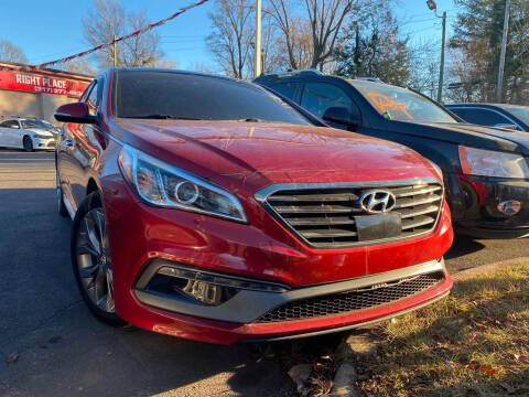 2015 Hyundai Sonata for sale at Right Place Auto Sales in Indianapolis IN