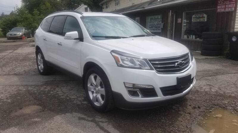 2017 Chevrolet Traverse for sale at Motor House in Alden NY
