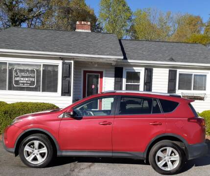 2014 Toyota RAV4 for sale at SIGNATURES AUTOMOTIVE GROUP LLC in Spartanburg SC