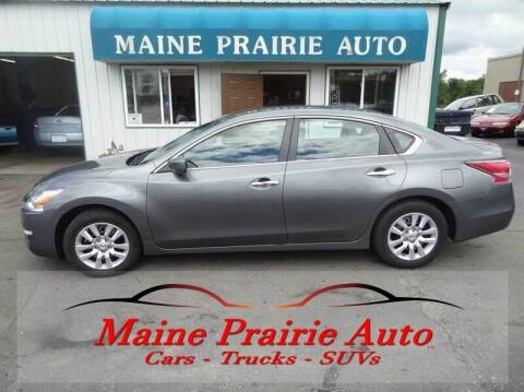 2015 Nissan Altima for sale at Maine Prairie Auto INC in Saint Cloud MN
