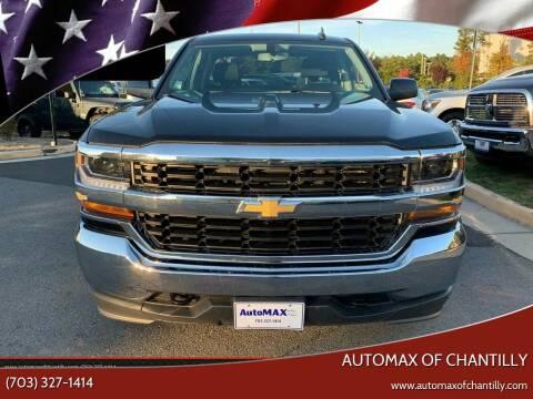 2018 Chevrolet Silverado 1500 for sale at Automax of Chantilly in Chantilly VA