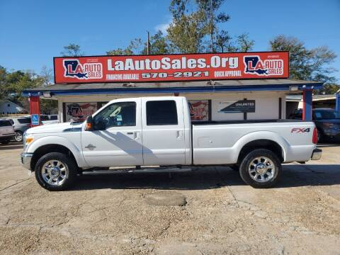 2011 Ford F-250 Super Duty for sale at LA Auto Sales in Monroe LA