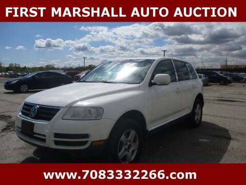 2006 Volkswagen Touareg for sale at First Marshall Auto Auction in Harvey IL