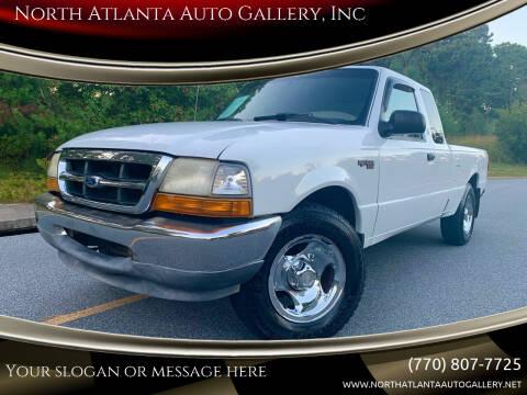 1999 Ford Ranger for sale at North Atlanta Auto Gallery, Inc in Alpharetta GA