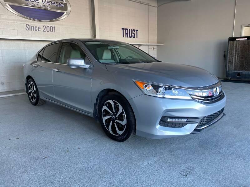 2016 Honda Accord for sale at TANQUE VERDE MOTORS in Tucson AZ