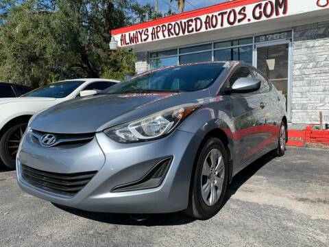2016 Hyundai Elantra for sale at Always Approved Autos in Tampa FL