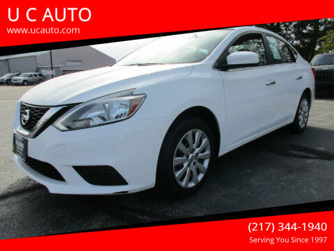 2016 Nissan Sentra for sale at U C AUTO in Urbana IL