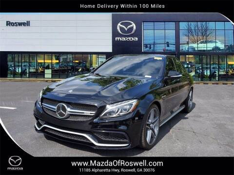 2015 Mercedes-Benz C-Class for sale at Mazda Of Roswell in Roswell GA