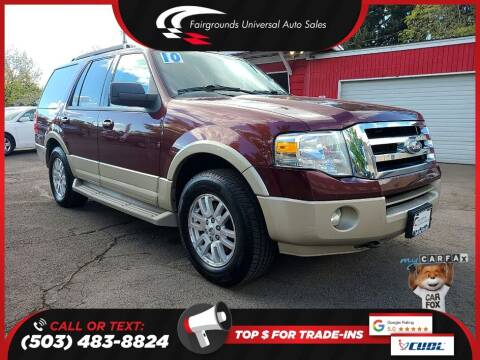 2010 Ford Expedition for sale at Universal Auto Sales in Salem OR