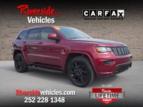 2018 Jeep Grand Cherokee for sale at Riverside Mitsubishi(New Bern Auto Mart) in New Bern NC