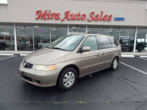 2004 Honda Odyssey for sale at Mira Auto Sales in Dayton OH