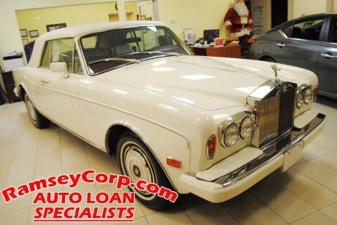1987 Rolls-Royce Corniche for sale at Ramsey Corp. in West Milford NJ