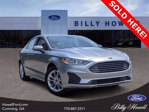 2020 Ford Fusion for sale at BILLY HOWELL FORD LINCOLN in Cumming GA