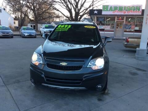 2013 Chevrolet Captiva Sport for sale at Harrison Family Motors in Topeka KS