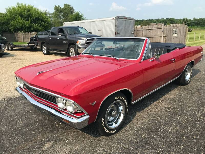 1966 Chevrolet Chevelle Malibu for sale at 500 CLASSIC AUTO SALES in Knightstown IN