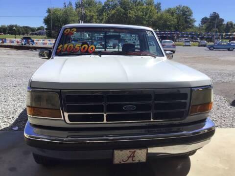 1992 Ford F-150 for sale at K & E Auto Sales in Ardmore AL