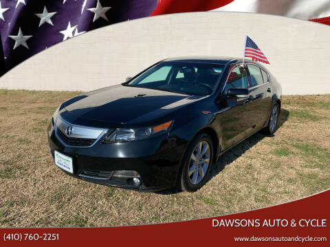 2013 Acura TL for sale at Dawsons Auto & Cycle in Glen Burnie MD
