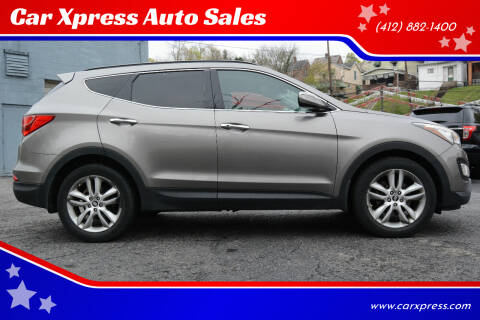 2013 Hyundai Santa Fe Sport for sale at Car Xpress Auto Sales in Pittsburgh PA
