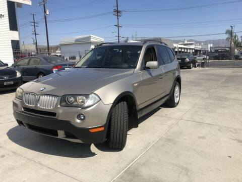 2008 BMW X3 for sale at Hunter's Auto Inc in North Hollywood CA