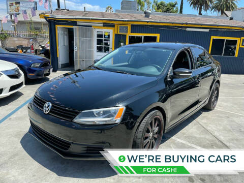 2012 Volkswagen Jetta for sale at Good Vibes Auto Sales in North Hollywood CA