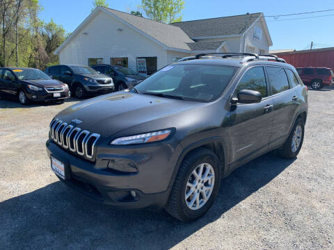 2017 Jeep Cherokee for sale at Evia Auto Sales Inc. in Glens Falls NY