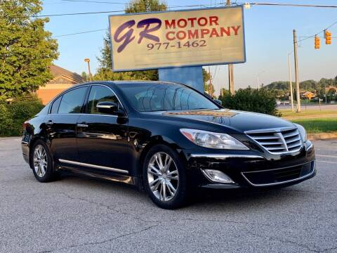 2012 Hyundai Genesis for sale at GR Motor Company in Garner NC