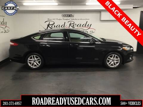 2014 Ford Fusion for sale at Road Ready Used Cars in Ansonia CT