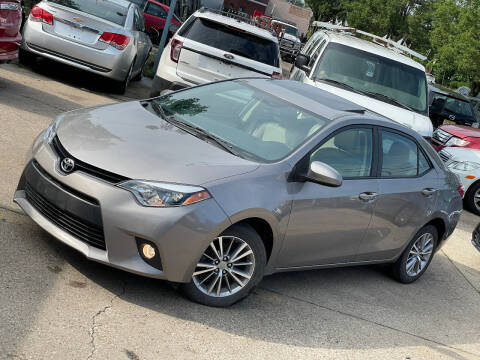 2014 Toyota Corolla for sale at Exclusive Auto Group in Cleveland OH