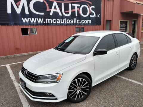 2016 Volkswagen Jetta for sale at MC Autos LLC in Pharr TX