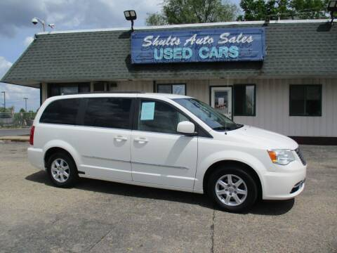 2011 Chrysler Town and Country for sale at SHULTS AUTO SALES INC. in Crystal Lake IL