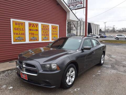 2013 Dodge Charger for sale at Mack's Autoworld in Toledo OH
