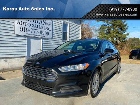 2013 Ford Fusion for sale at Karas Auto Sales Inc. in Sanford NC