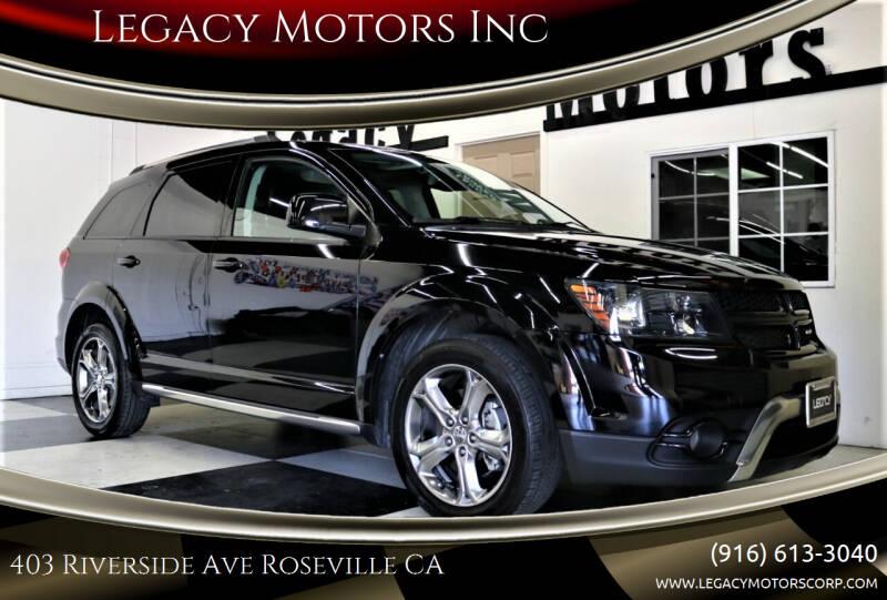 2017 Dodge Journey for sale at Legacy Motors Inc in Roseville CA