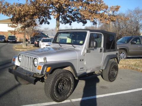 2006 Jeep Wrangler for sale at Auto Bahn Motors in Winchester VA