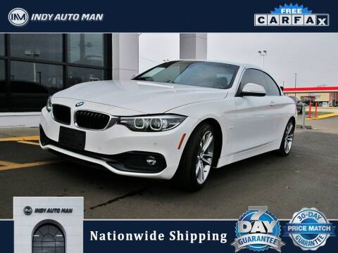 2018 BMW 4 Series for sale at INDY AUTO MAN in Indianapolis IN