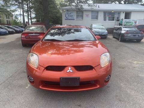 2006 Mitsubishi Eclipse for sale at MEEK MOTORS in North Chesterfield VA