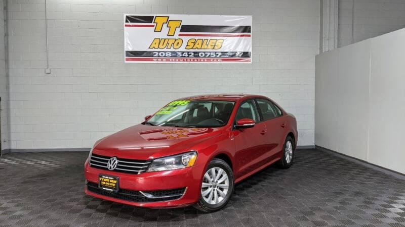 2015 Volkswagen Passat for sale at TT Auto Sales LLC. in Boise ID