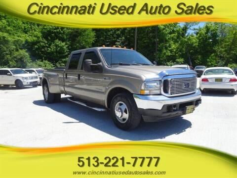2002 Ford F-350 Super Duty for sale at Cincinnati Used Auto Sales in Cincinnati OH