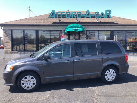 2018 Dodge Grand Caravan for sale at Afford-A-Car in Moraine OH
