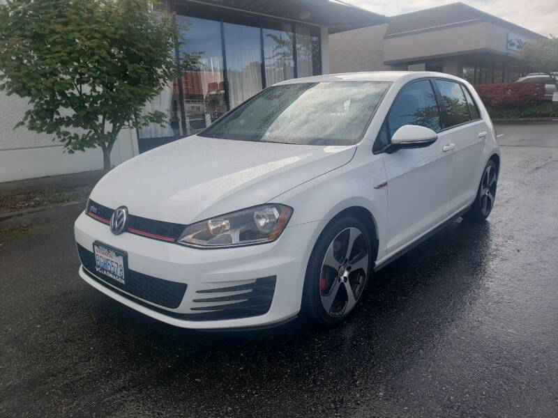 2015 Volkswagen Golf GTI for sale at Painlessautos.com in Bellevue WA