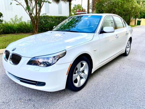 2008 BMW 5 Series for sale at DENMARK AUTO BROKERS in Riviera Beach FL